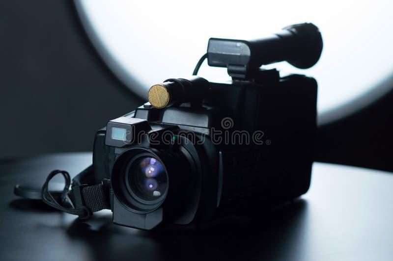Το παλαιό camcorder μου στην ταινία στοκ εικόνα