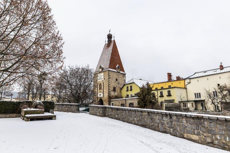 Το παλαιό Castle σε Freistadt - την Άνω Αυστρία στοκ φωτογραφίες με δικαίωμα ελεύθερης χρήσης