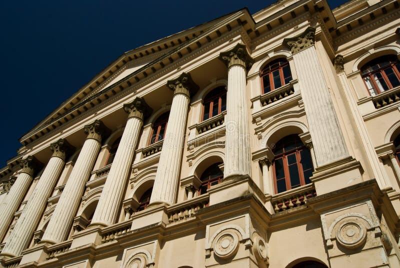 Το πανεπιστημιακό ιστορικό κτήριο ` s στοκ φωτογραφίες