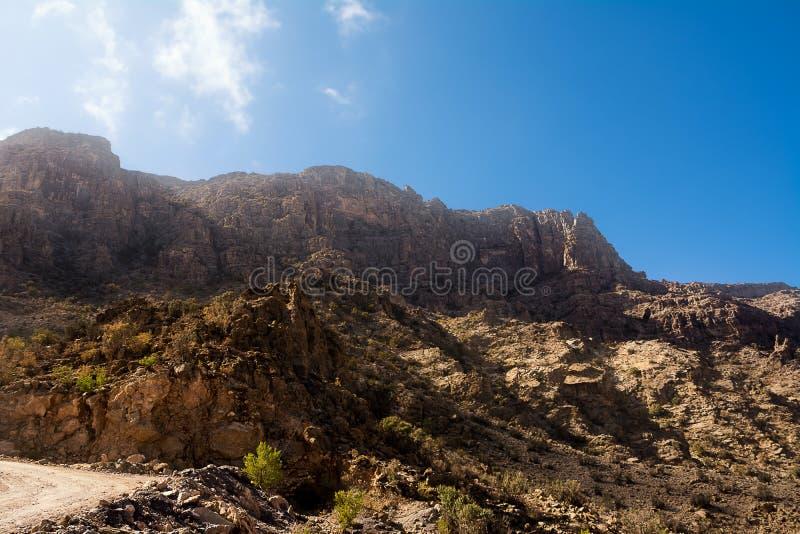 Το πανόραμα του βουνού Jebel υποκρίνεται στοκ εικόνες