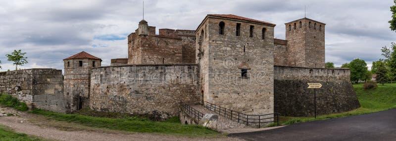 Το πανόραμα του μπαμπά Vida είναι ένα μεσαιωνικό φρούριο σε Vidin στη βορειοδυτική Βουλγαρία και πόλης αρχικό ορόσημο στοκ εικόνες με δικαίωμα ελεύθερης χρήσης