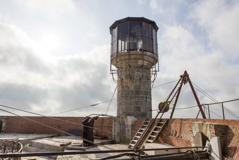 Το παρατηρητήριο του Fort Boyard, Charente-Maritime, Γαλλία στοκ φωτογραφίες με δικαίωμα ελεύθερης χρήσης