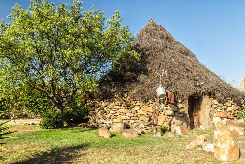 Το παραδοσιακό σπίτι της Σαρδηνίας (Ιταλία) στοκ φωτογραφία με δικαίωμα ελεύθερης χρήσης