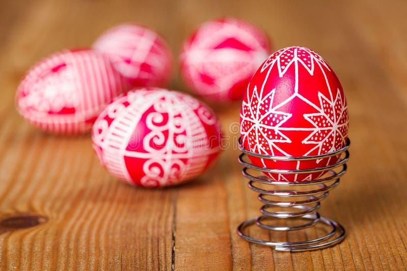 Το παραδοσιακό transylvanian χέρι γραπτό τα αυγά στοκ φωτογραφίες