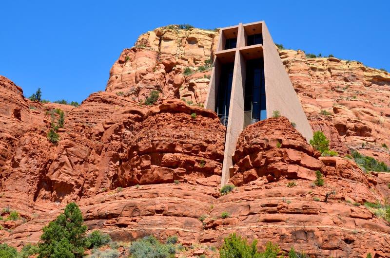 Το παρεκκλησι του ιερού σταυρού στοκ εικόνες