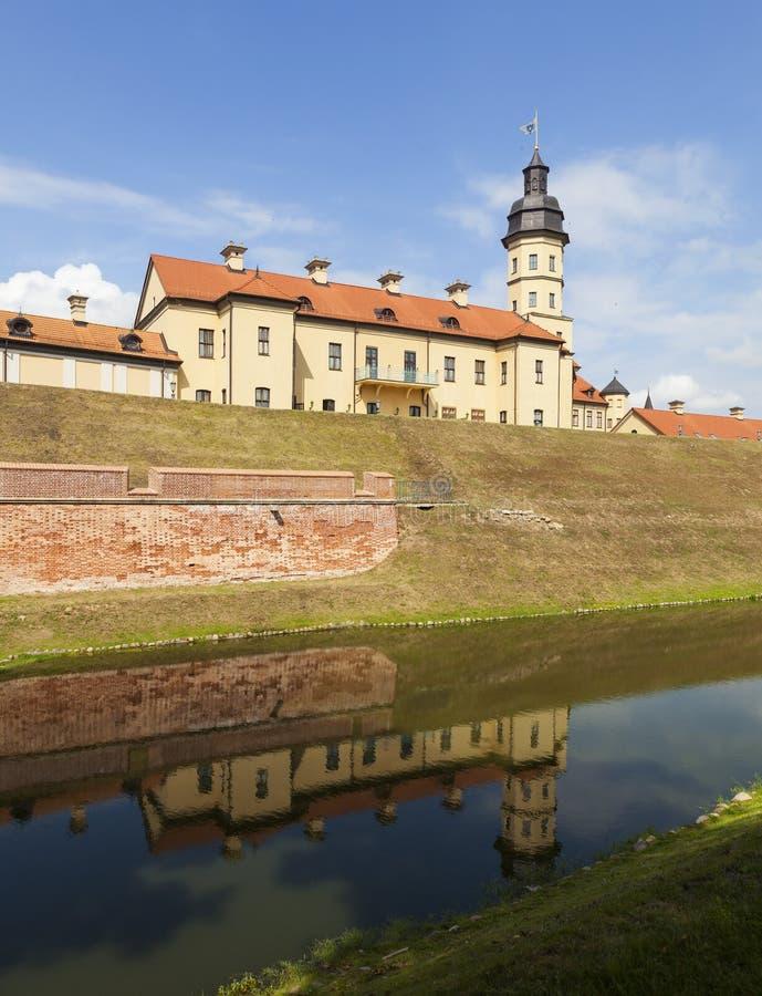 Το παλάτι και το κάστρο σύνθετα - Nesvizh Castle belatedness στοκ φωτογραφίες με δικαίωμα ελεύθερης χρήσης