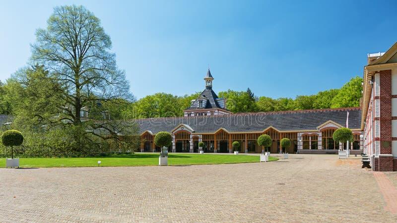 Το παλάτι τουαλετών που βρίσκεται στα περίχωρα του Άπελντορν στο Neth στοκ εικόνες με δικαίωμα ελεύθερης χρήσης