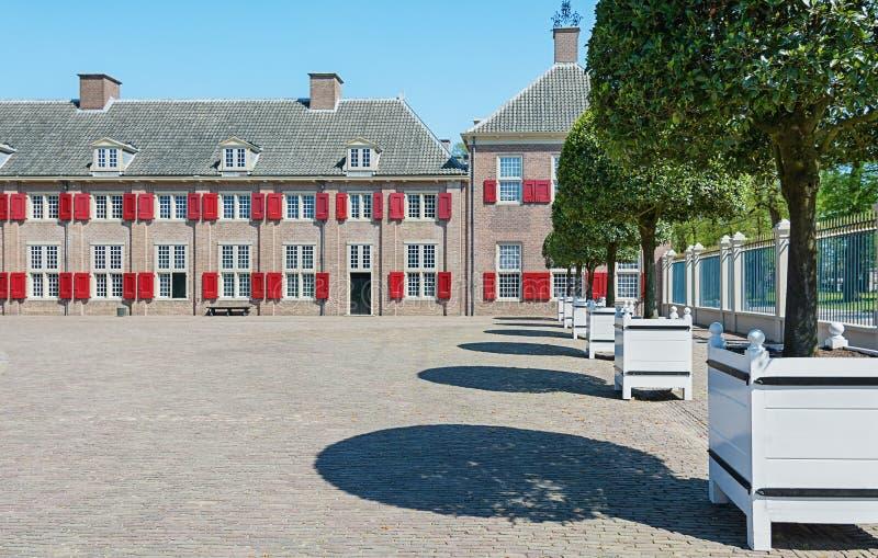 Το παλάτι τουαλετών που βρίσκεται στα περίχωρα του Άπελντορν στο Neth στοκ φωτογραφία με δικαίωμα ελεύθερης χρήσης