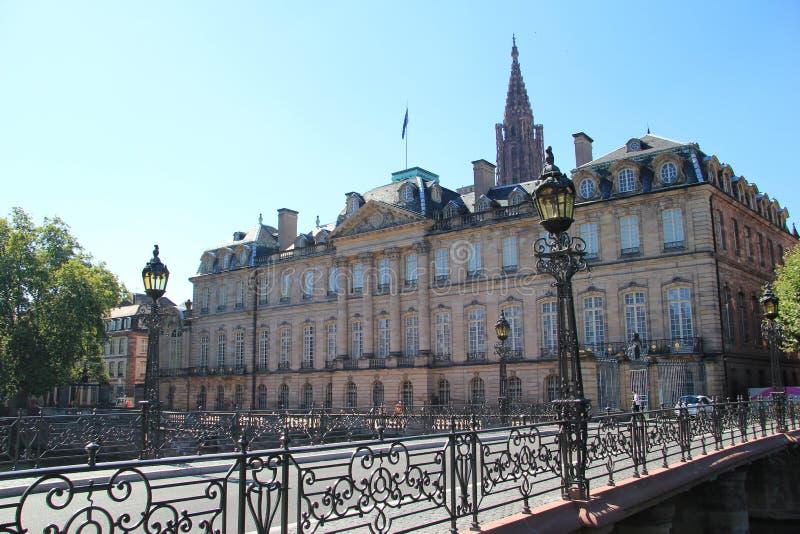 Το παλάτι του Rohan στο Στρασβούργο στοκ εικόνες