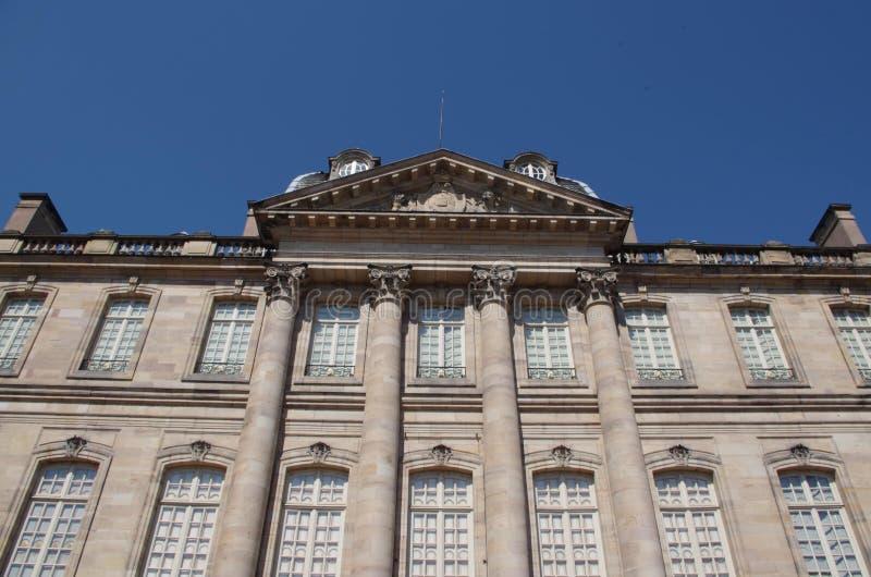 Το παλάτι του Rohan στο Στρασβούργο στοκ φωτογραφίες με δικαίωμα ελεύθερης χρήσης
