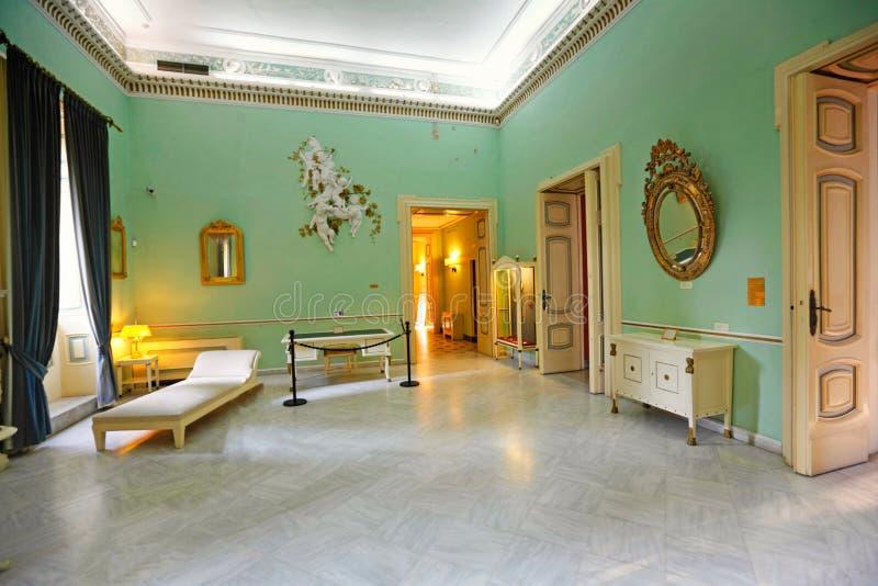 Το παλάτι Achilleion στην Κέρκυρα, Ελλάδα στοκ εικόνα με δικαίωμα ελεύθερης χρήσης