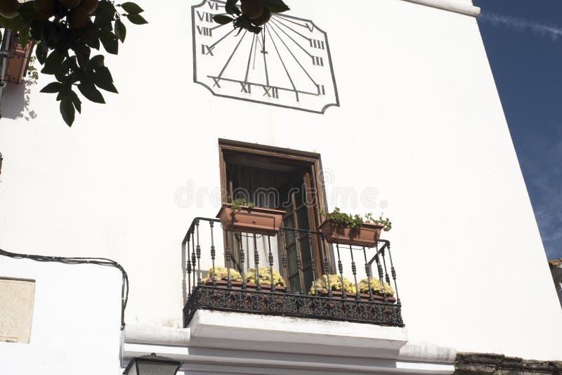 Το παλαιό Δημαρχείο Marbella στο Κόστα ντελ Σολ Ανδαλουσία, Ισπανία στοκ εικόνα