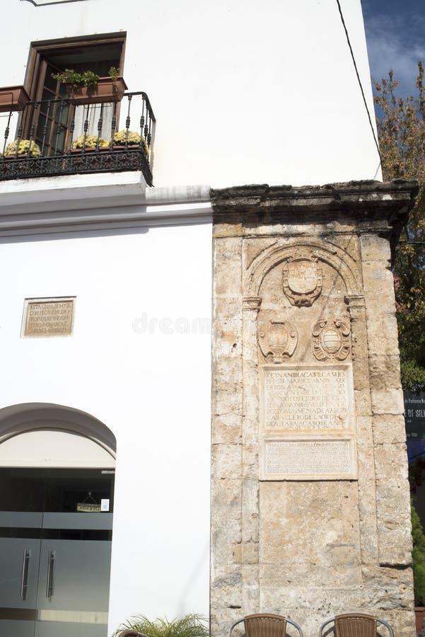 Το παλαιό Δημαρχείο Marbella στο Κόστα ντελ Σολ Ανδαλουσία, Ισπανία στοκ φωτογραφία με δικαίωμα ελεύθερης χρήσης