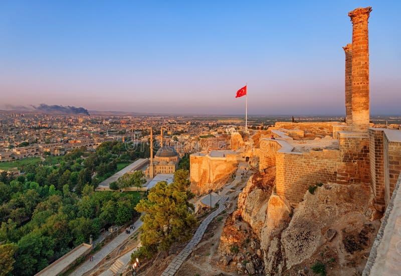 Το παλαιό κάστρο, Urfa, Τουρκία στοκ εικόνες με δικαίωμα ελεύθερης χρήσης