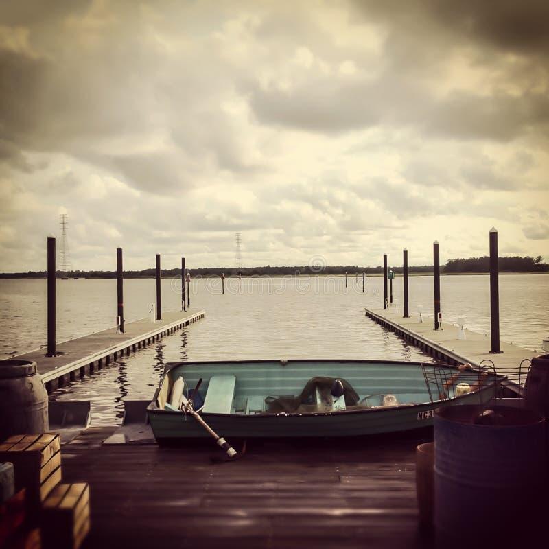 Το παλαιό Boatramp στοκ εικόνες με δικαίωμα ελεύθερης χρήσης