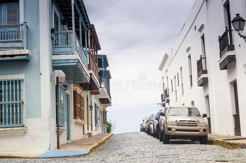 Το παλαιό San Juan, Πουέρτο Ρίκο στοκ εικόνες