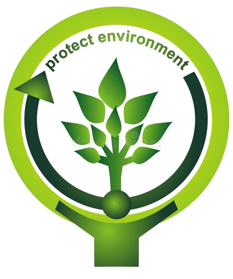 το περιβάλλον προστατεύει απεικόνιση αποθεμάτων