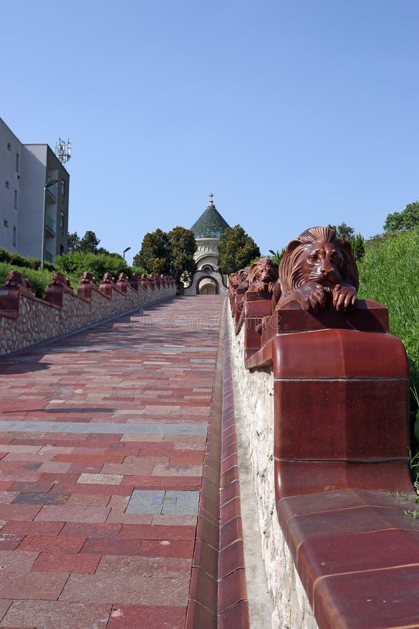 Το πολιτιστικό τέταρτο Pecs Ουγγαρία Zsolnay στοκ εικόνα με δικαίωμα ελεύθερης χρήσης