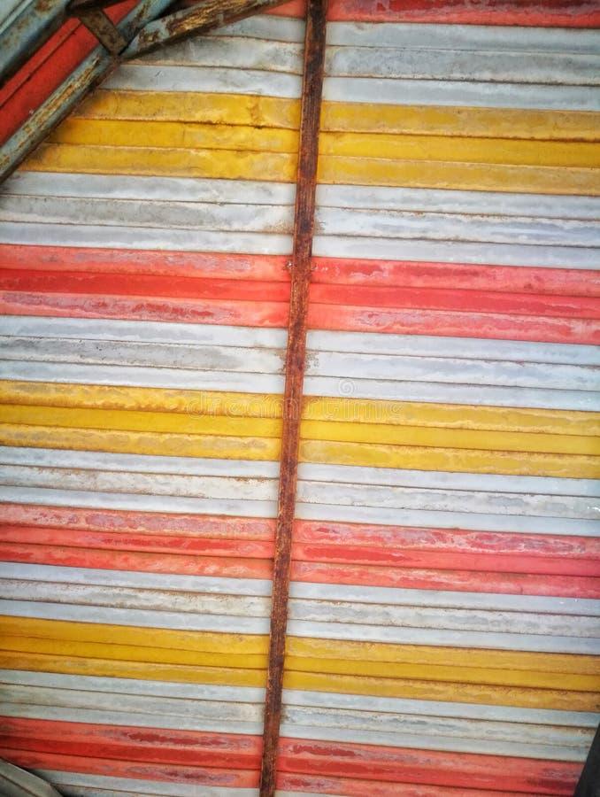 το πολυ φύλλο μετάλλων χρώματος στοκ εικόνες με δικαίωμα ελεύθερης χρήσης