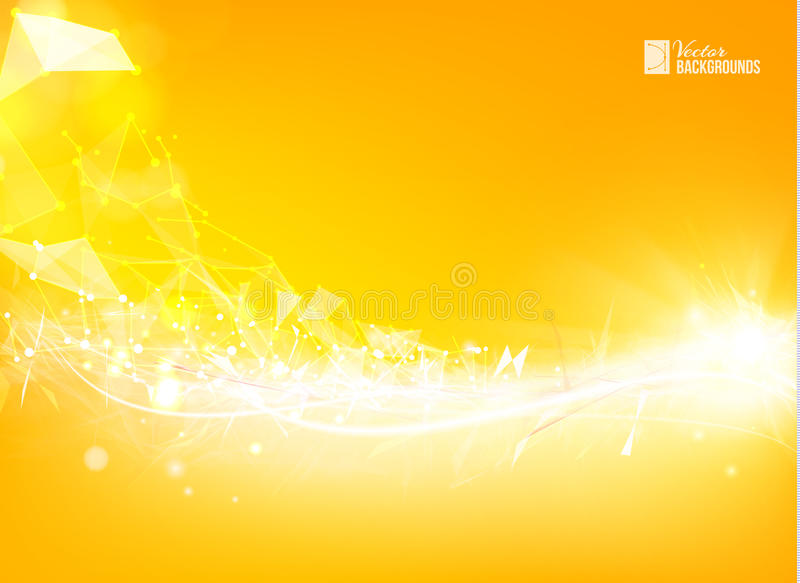 Το πορτοκαλί τρίγωνο ελεύθερη απεικόνιση δικαιώματος