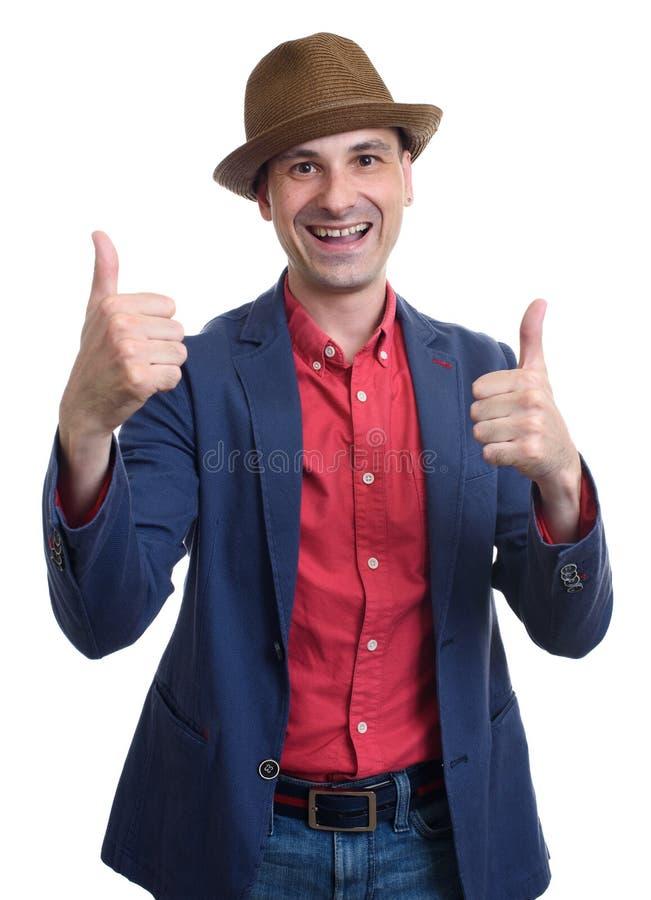 Το πορτρέτο ενός αστείου δοσίματος ατόμων φυλλομετρεί επάνω στοκ εικόνες με δικαίωμα ελεύθερης χρήσης