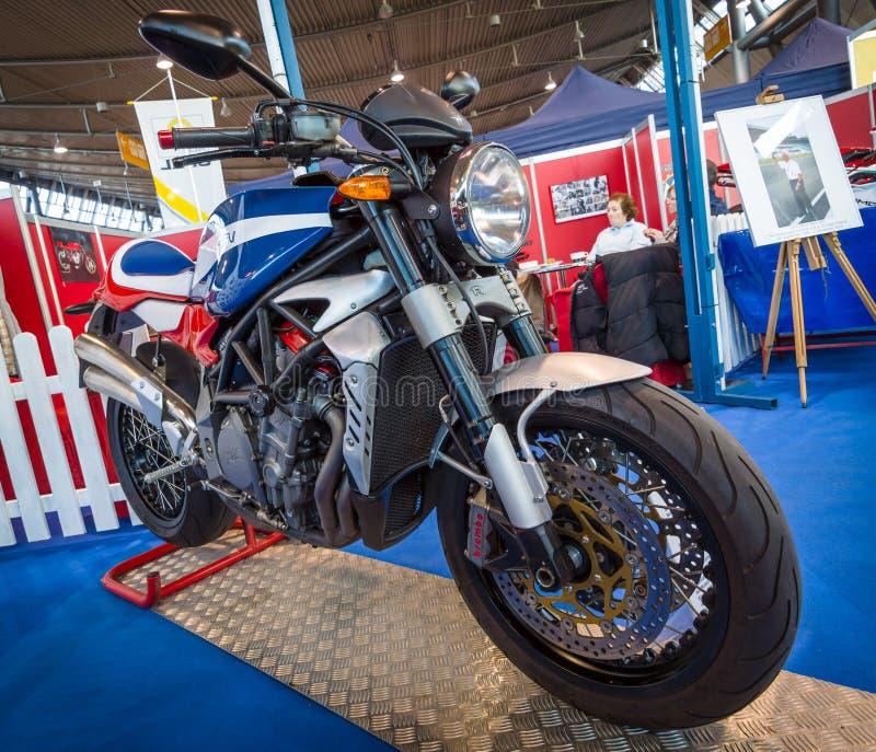 Το ποδήλατο MV Agusta F4 Magni Storia, 2014 στοκ φωτογραφία με δικαίωμα ελεύθερης χρήσης