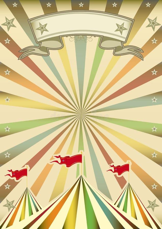 Το πολύχρωμο τσίρκο παρουσιάζει στοκ φωτογραφία με δικαίωμα ελεύθερης χρήσης