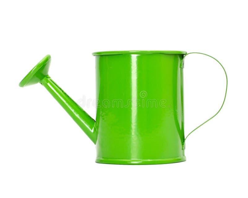 Το πράσινο πότισμα μπορεί στοκ φωτογραφία