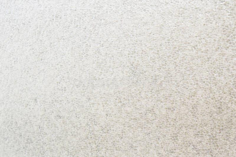 Το προστατευόμενο από τους κραδασμούς υπόβαθρο φυσαλίδων, το χρώμα είναι ανοικτό καφέ στο λευκό στοκ εικόνα