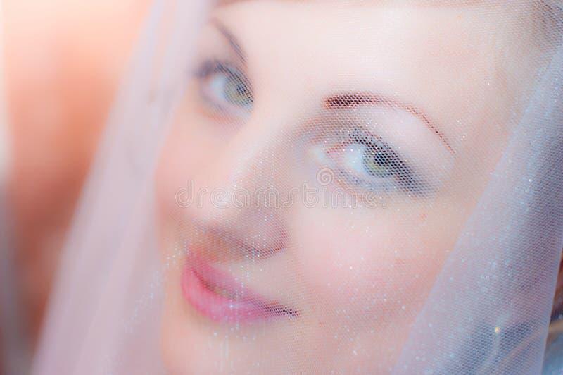 Το πρόσωπο η νύφη στοκ εικόνες με δικαίωμα ελεύθερης χρήσης