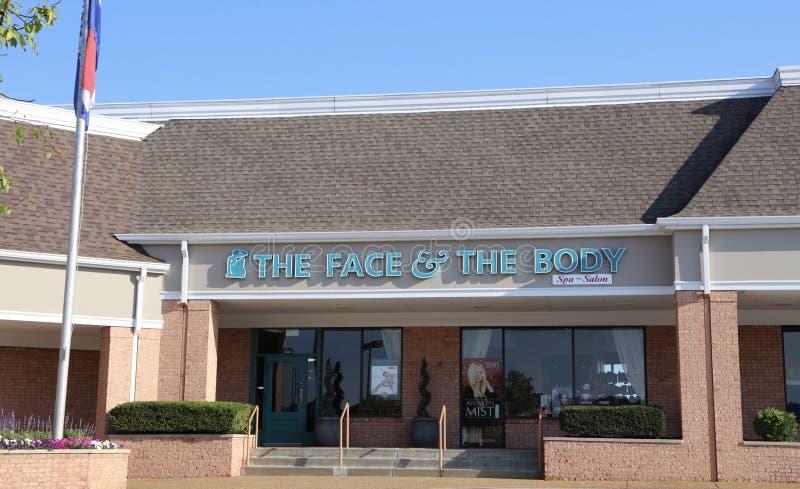 Το πρόσωπο και Body Spa και σαλόνι στοκ φωτογραφίες
