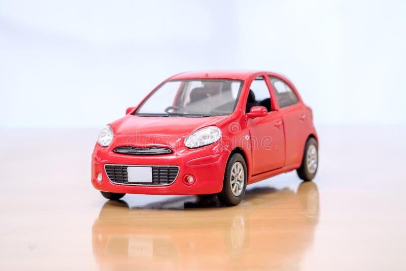 Το πρότυπο αυτοκινήτων παιχνιδιών στοκ φωτογραφίες