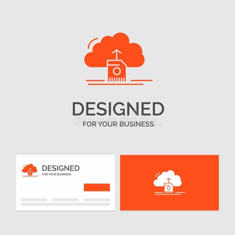 Το πρότυπο επιχειρησιακών λογότυπων για το σύννεφο, φορτώνει, εκτός από, στοιχεία, τον υπολογισμό r απεικόνιση αποθεμάτων