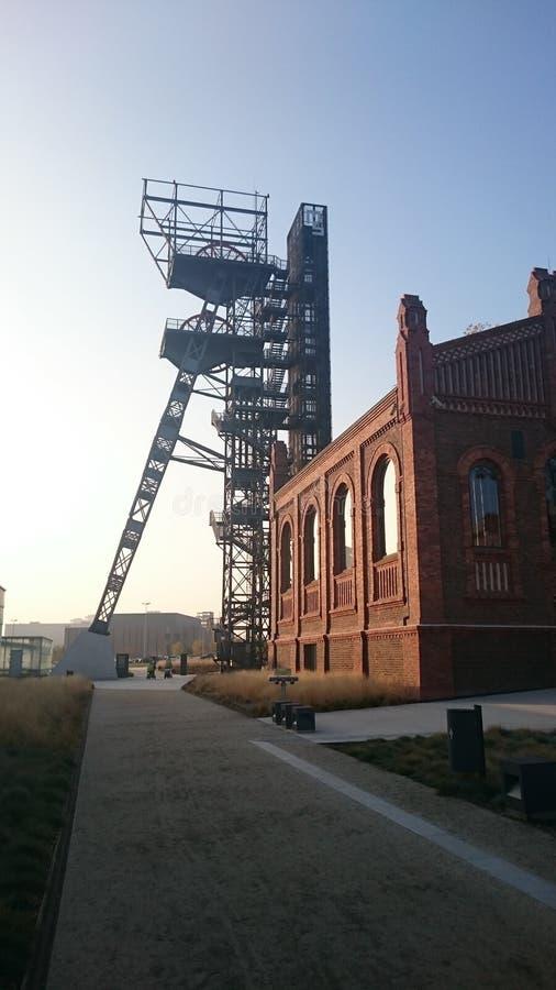 Το πρώην ανθρακωρυχείο Katowice στοκ φωτογραφία με δικαίωμα ελεύθερης χρήσης