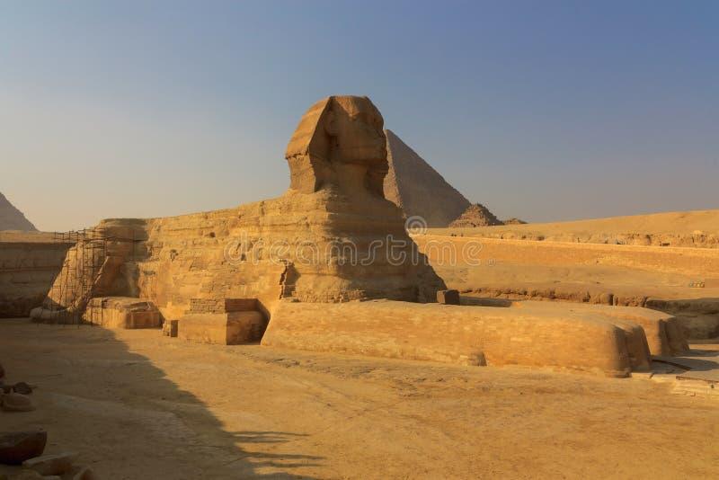 Το πλήρες σχεδιάγραμμα του μεγάλου Sphinx στοκ εικόνες