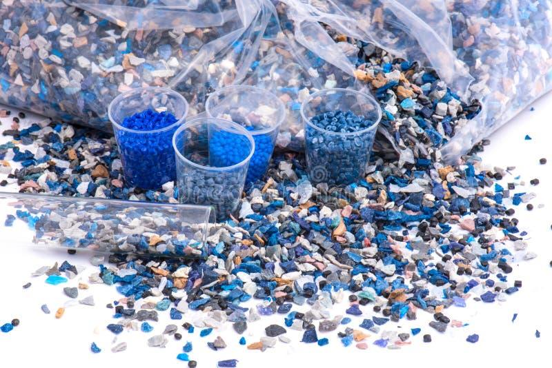 Το πλαστικό ξαναλέθει με τη ρητίνη στοκ φωτογραφίες με δικαίωμα ελεύθερης χρήσης