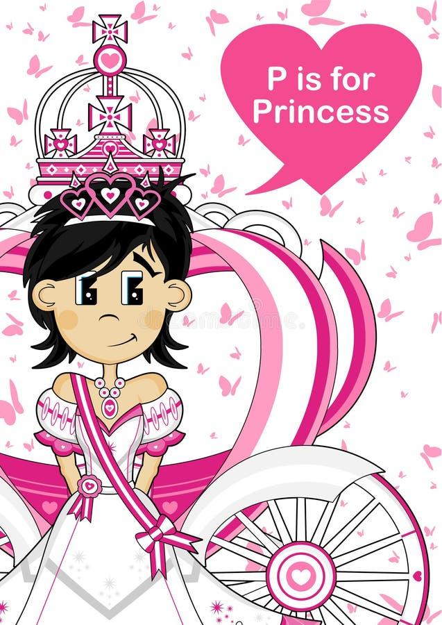 Το Π είναι για την πριγκήπισσα ελεύθερη απεικόνιση δικαιώματος