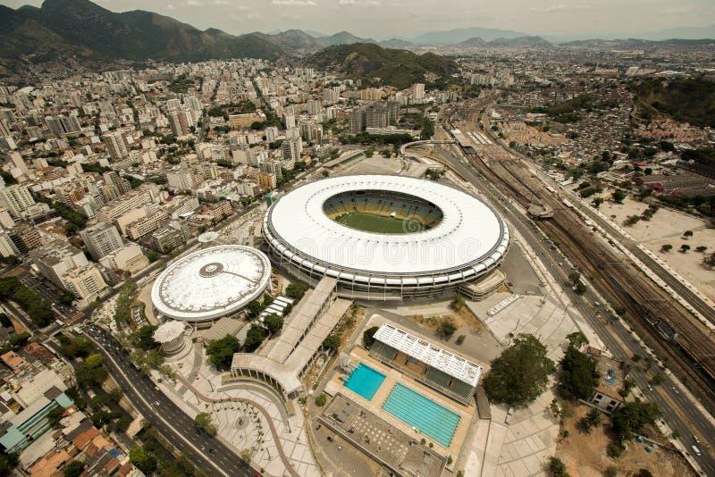 Το Ρίο ντε Τζανέιρο, Βραζιλία, Νότια Αμερική, καλοκαίρι, 2014, λατινική, πρωινή, εναέρια, εναέρια άποψη, ελικόπτερο, αγνοεί, βλέπ στοκ φωτογραφία με δικαίωμα ελεύθερης χρήσης