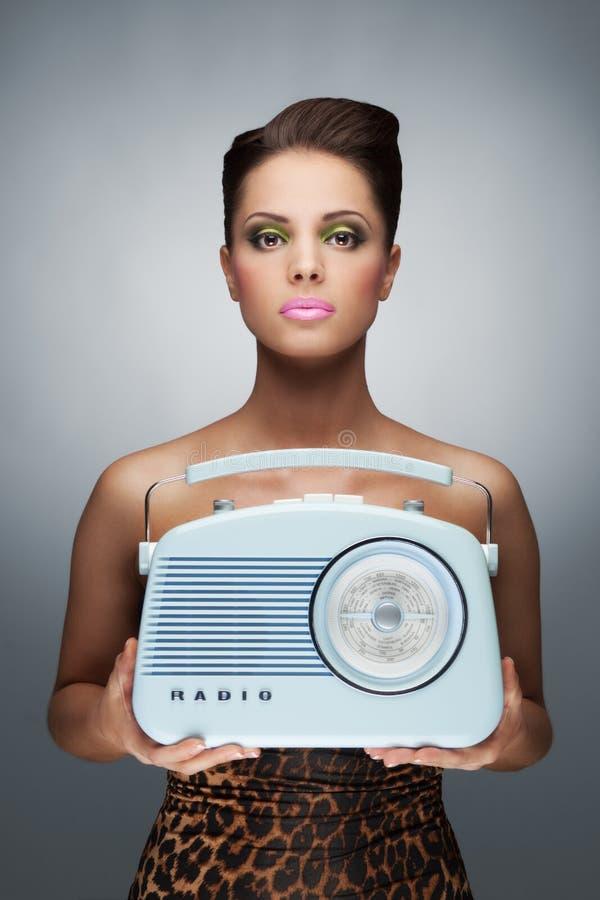 Το ραδιο φανάρι. στοκ εικόνες