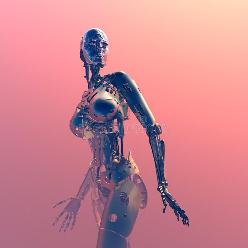 Το ρομπότ απεικόνιση αποθεμάτων