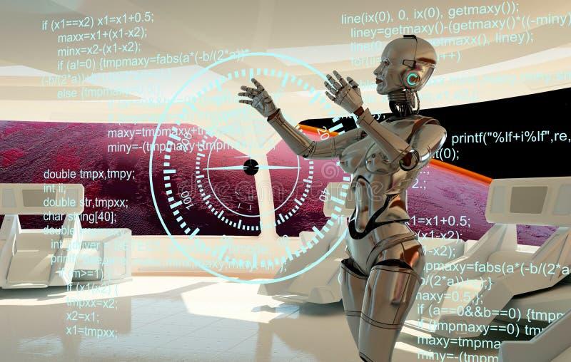 Το ρομπότ διανυσματική απεικόνιση