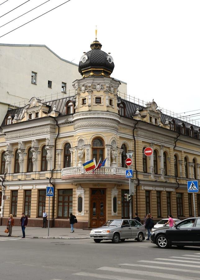 Το Ροστόφ -φορά - η μεγαλύτερη πόλη στο νότο της Ρωσικής Ομοσπονδίας, το διοικητικό κέντρο του Ροστόφ Oblast Bolshaya S στοκ φωτογραφία