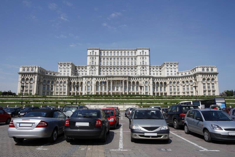 Το ρουμανικό Κοινοβούλιο στοκ εικόνες με δικαίωμα ελεύθερης χρήσης