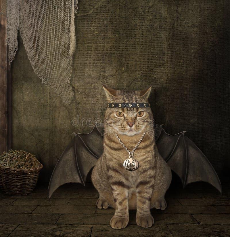 Το ρόπαλο - γάτα στοκ φωτογραφία