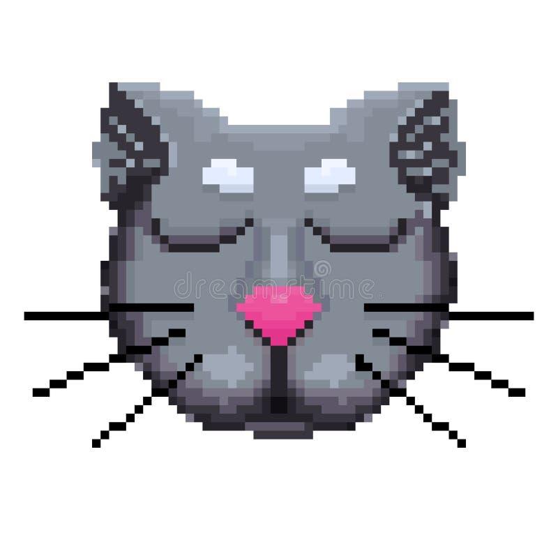 Το ρύγχος των εικονοκυττάρων γατών ελεύθερη απεικόνιση δικαιώματος