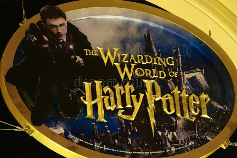 Το σημάδι του Harry Potter στοκ εικόνες