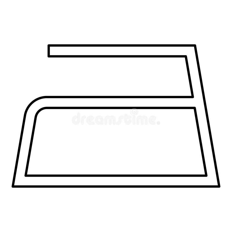 Το σιδέρωμα επιτρέπεται τα σύμβολα προσοχής ενδυμάτων που πλένουν έννοιας πλυντηρίων σημαδιών εικονιδίων περιλήψεων τη μαύρη χρώμ ελεύθερη απεικόνιση δικαιώματος