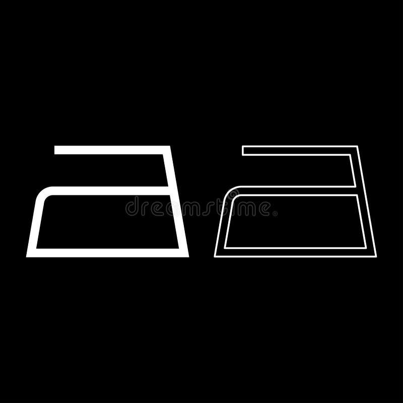 Το σιδέρωμα επιτρέπεται τα σύμβολα προσοχής ενδυμάτων που πλένουν έννοιας πλυντηρίων σημαδιών εικονιδίων περιλήψεων το καθορισμέν ελεύθερη απεικόνιση δικαιώματος