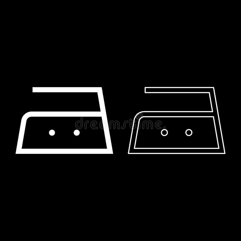 Το σιδέρωμα επιτρέπεται τη μέση θερμοκρασία σε εκατόν πενήντα 150 σύμβολα προσοχής ενδυμάτων βαθμών που πλένουν το εικονίδιο σημα απεικόνιση αποθεμάτων
