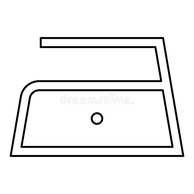 Το σιδέρωμα επιτρέπεται τη χαμηλή αργή θερμοκρασία σε εκατόν δέκα 110 σύμβολα προσοχής ενδυμάτων βαθμών που πλένουν το εικονίδιο  ελεύθερη απεικόνιση δικαιώματος